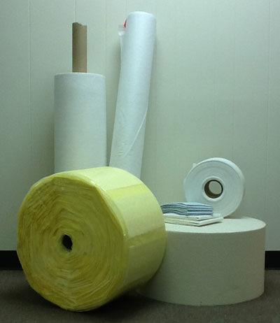 Superabsorbent Rolled Goods